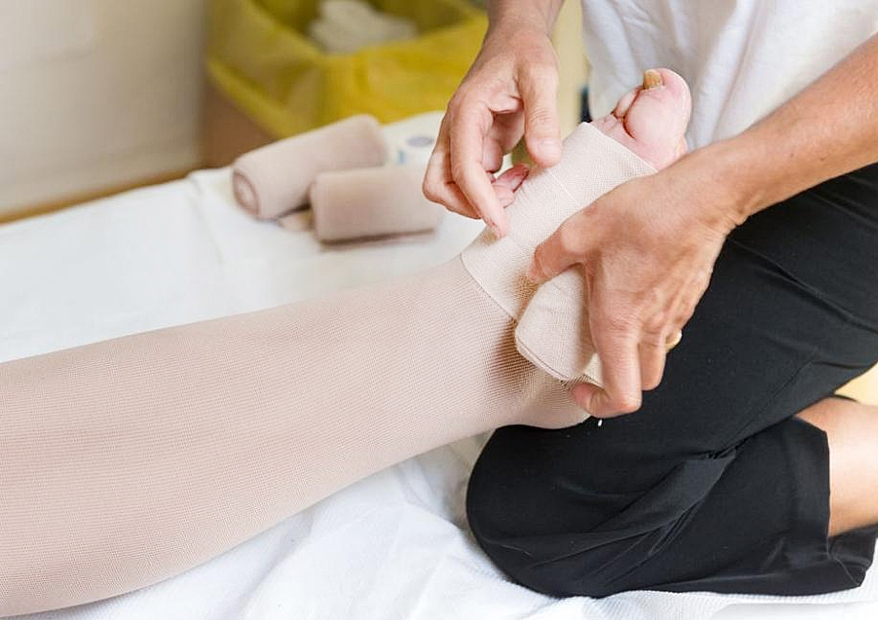 Reduce swelling and get relief from lymphedema